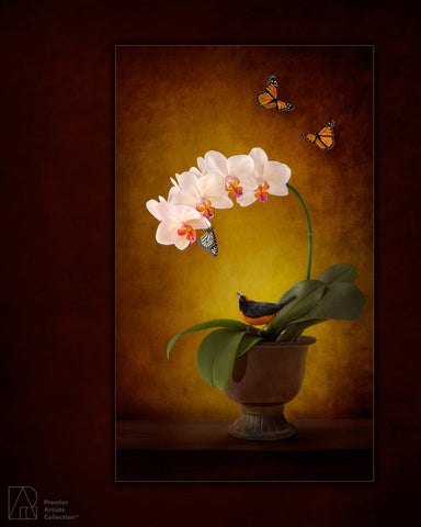 Bird and Butterflies - Karen Nakamura