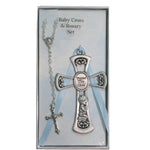 Cross and Rosary Set- Boy - St. Mary's Gift Store