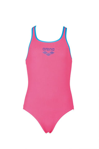 Arena True Sport Girls Biglogo Swim Pro Back One Piece Aphrodite/Turquoise