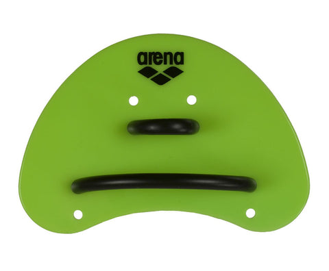 Arena Training Elite Finger Paddle Acid Lime/Black