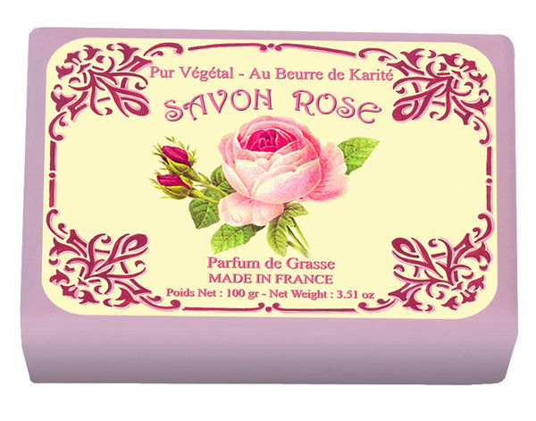 Le Blanc Wrapped Soap  - Rose