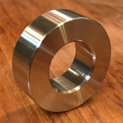 "extsw 3/4"" / .783 ID x 1 1/2"" OD x 1/2"" Thick 316 stainless spacer / FREE SHIPPING"
