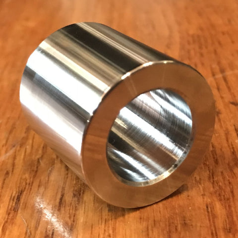 "extsw 3/4"" / .755"" ID x 1 1/4"" OD x 1 1/4"" Thick 316 Stainless Shaft Spacer /  FREE SHIPPING"