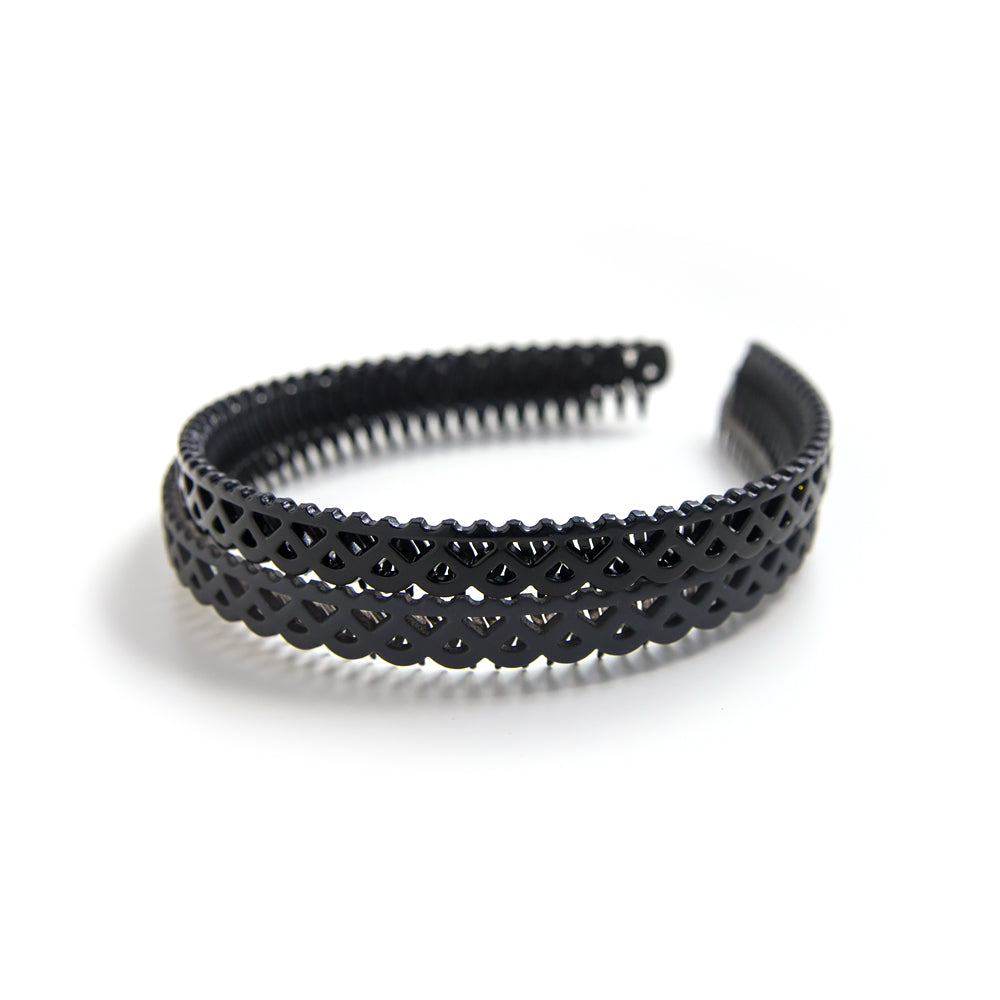 lattice flexible headband // hello shiso hair accessories for girls