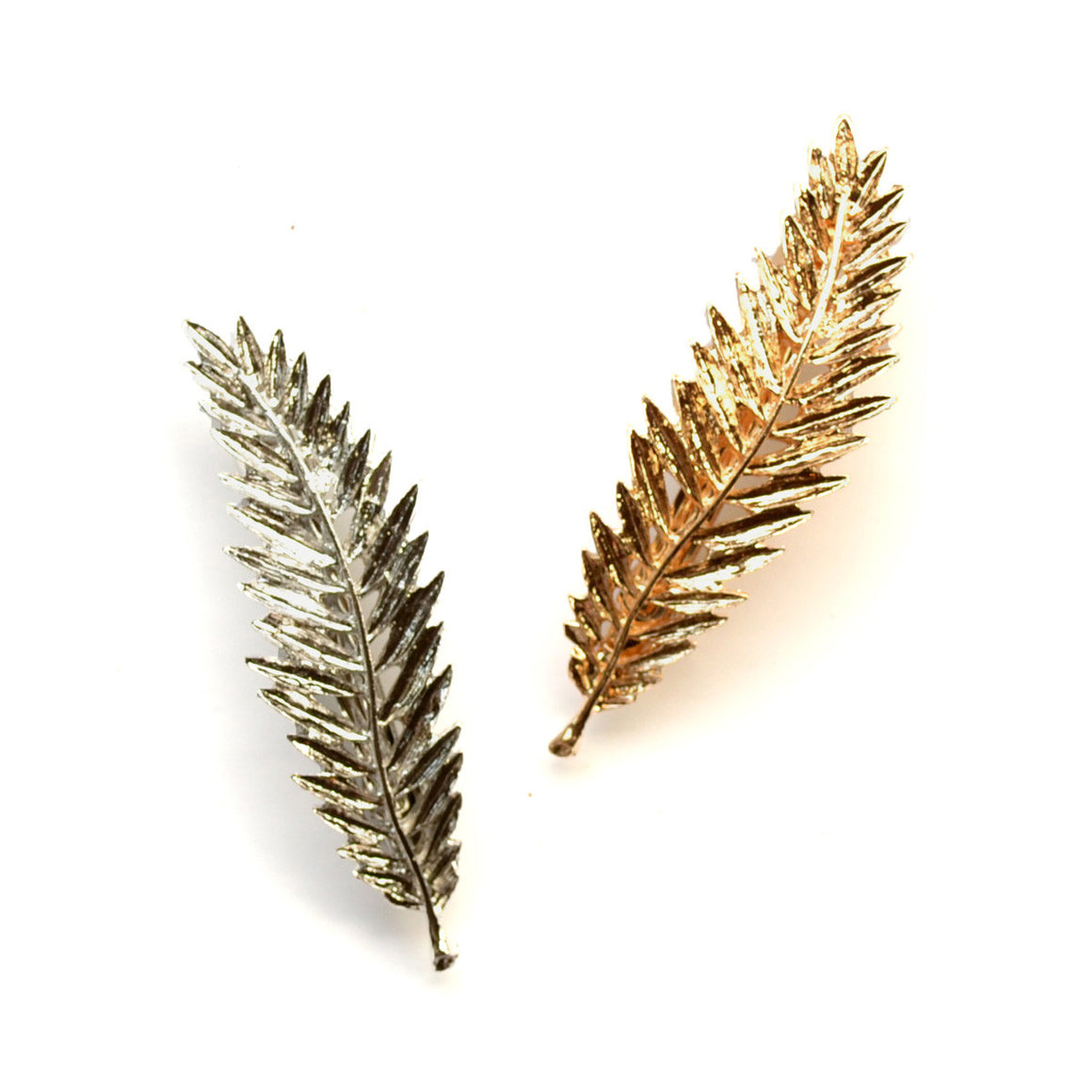 metal leaf clip // hello shiso hair accessories for girls