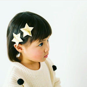 big star clips // hello shiso hair accessories for girls