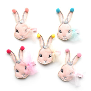 tulle bunny clip // hello shiso hair accessories for girls