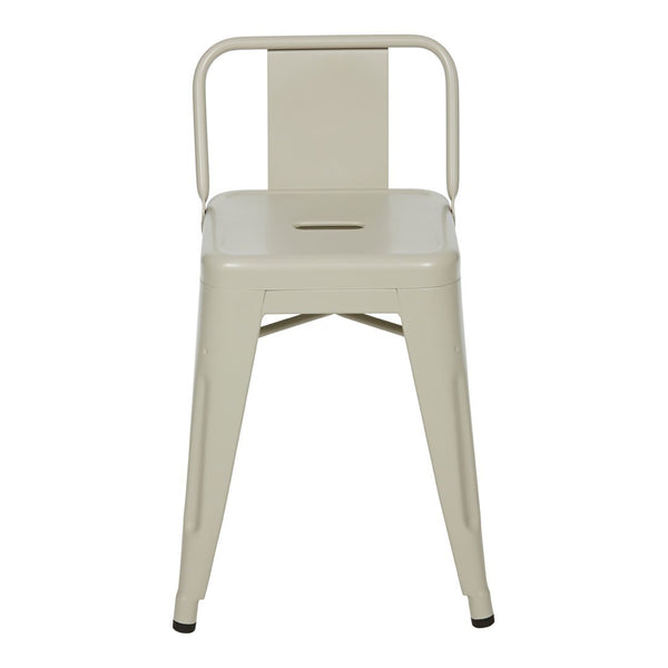 Tolix Indoor H 45 Small Backrest Stool