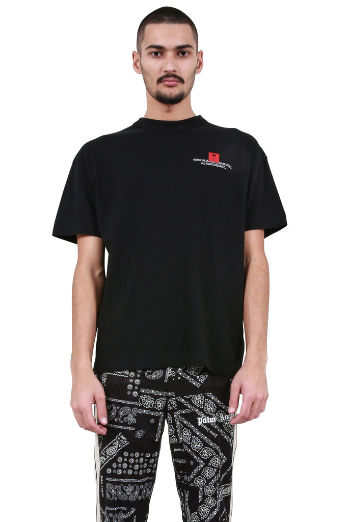 Small 'Palm x Palm' T-Shirt - Black