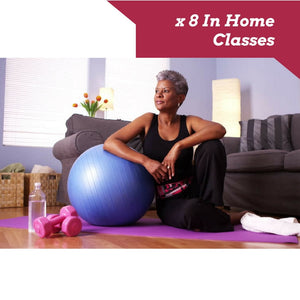 x 8 In Home Yoga classes