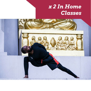 x 2 In Home Yoga Classes