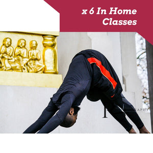 x 6 In Home Yoga Classes