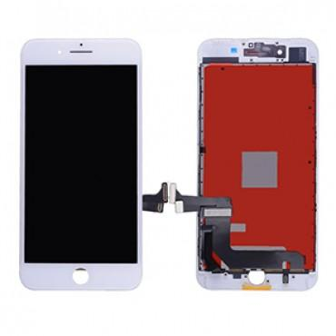Replacement LCD & Digitizer Frame Assembly for iPhone 7 Plus - White - Lifetime Warranty