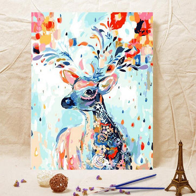 HOME BEAUTY digital oil paint painting by numbers diy picture drawing on canvas oil painting by hand coloring G202-Dollar Bargains Online Shopping Australia