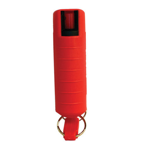 Pepper Shot Injection Molded Keychain Pepper Spray - Crime Guardian