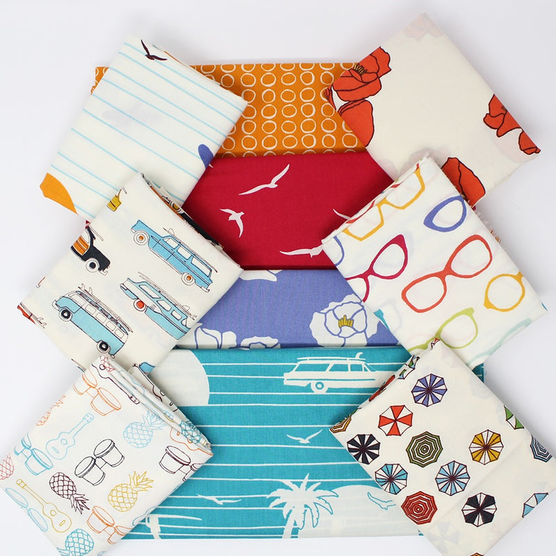 Fat Quarter Bundle Summer '62 (10 quarters)