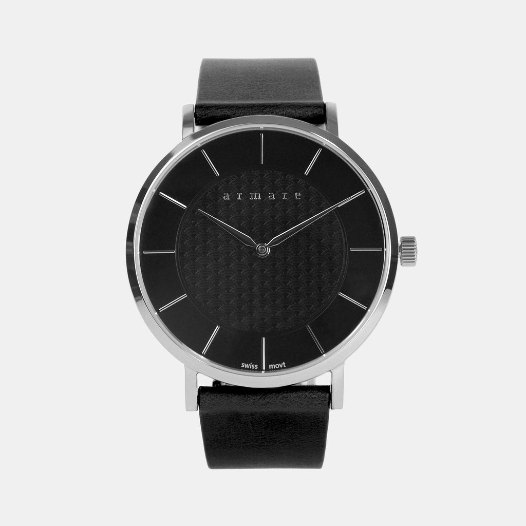 armare-watches-svelto40-black-silver