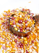 Sunset Love Sprinkle Mix, Vegan and Gluten Free, Cupcake Sprinkles