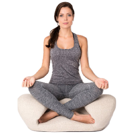 Image of Alexia Meditation Seat - Fabric - Canvas