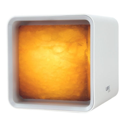 Image of Ascent Modern Cube Himalayan Salt Lamp