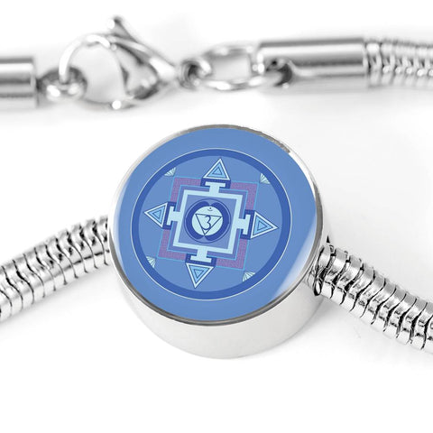 Image of Third Eye (Sixth) Chakra Charm & Bracelet
