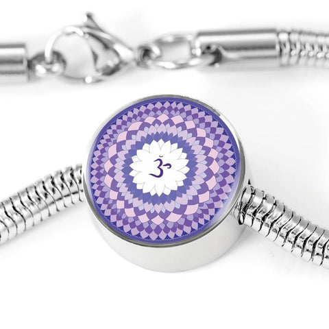 Crown (Seventh) Chakra Charm & Bracelet