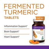 New Chapter Organic Turmeric Supplement - Fermented Turmeric Tablet for Brain, Heart and Inflammation Support - 96 Tablets