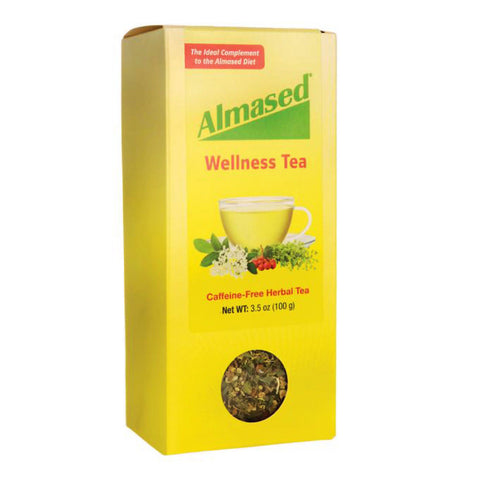 Almased Caffeine-Free Herbal Wellness Tea 3.5 oz Supports Digestions + Sleep
