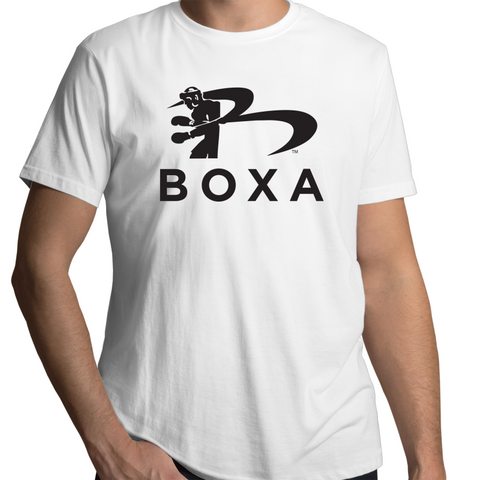BOXA Mens T-Shirt - Black Logo