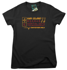 BRUCE LEE inspired ENTER THE DRAGON Han Island movie T-Shirt