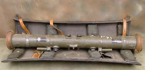 German WWII 80cm M-34 Rangefinder with Carrier: Dated 1938