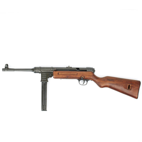 German WWII MP 41 New Made Display Gun- Metal and Wood Construction