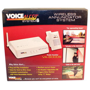 Voice Alert With 1 Transmitter