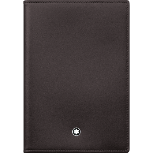 MEISTERSTÜCK Passport Holder Brown 114572
