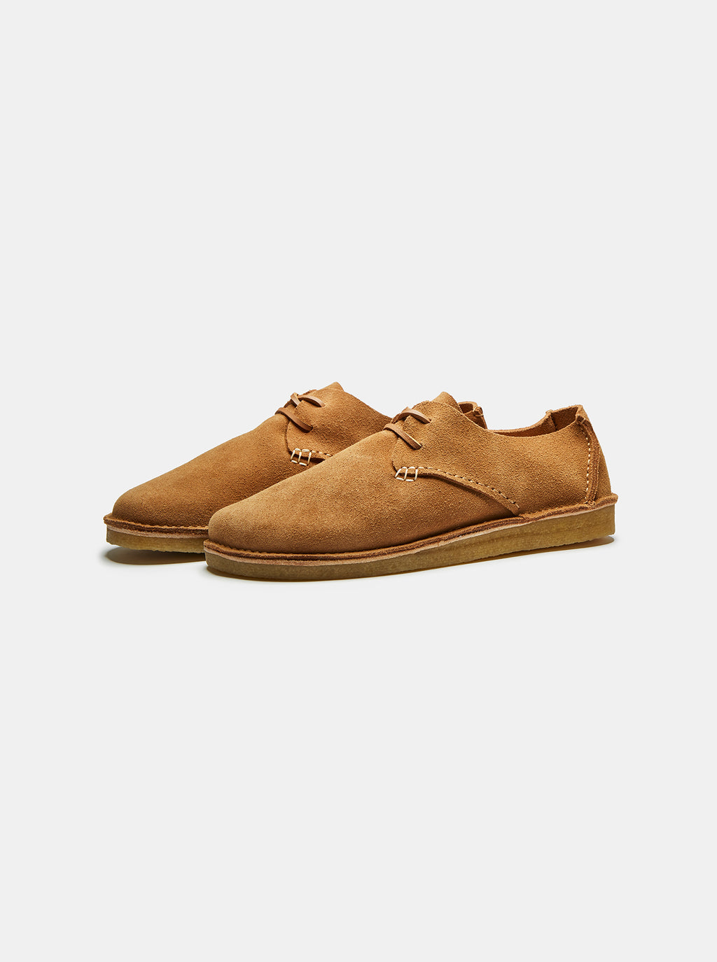 Caden Suede Lace-up Tan