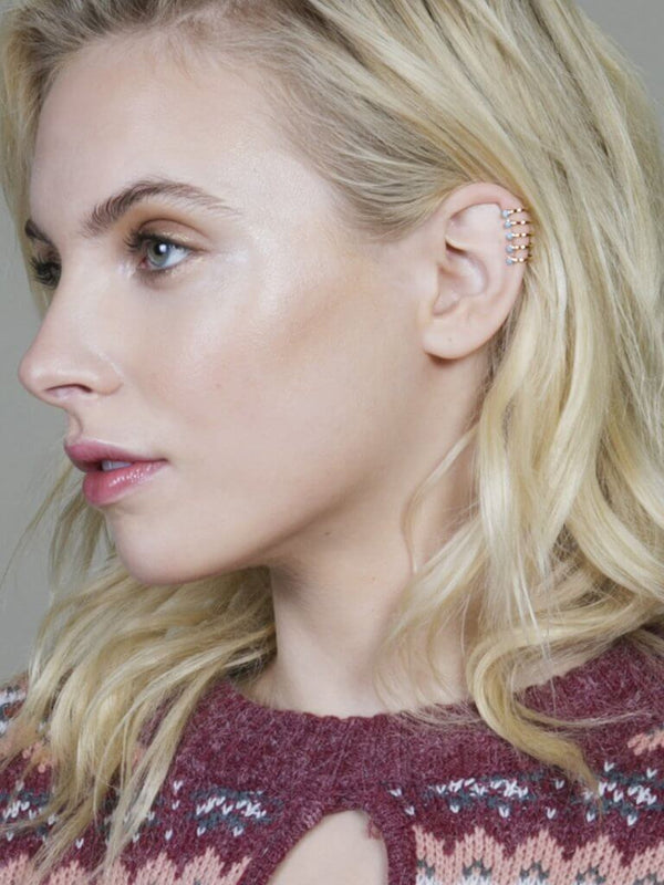Gold Oracle Ear Cuff