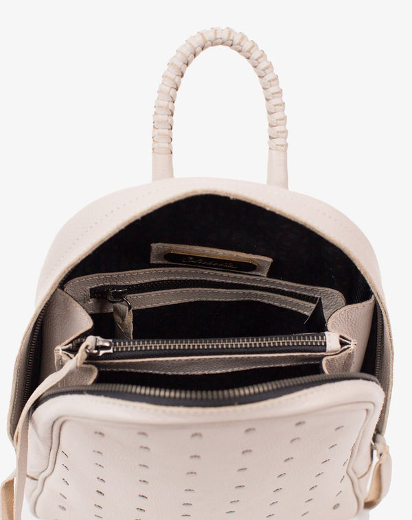 Clarence Backpack - Ivory