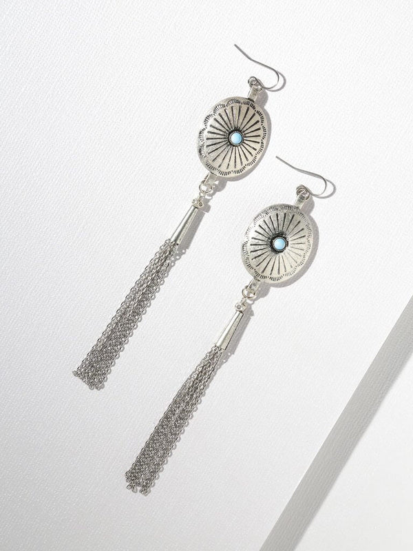 Dallas Concho Earrings