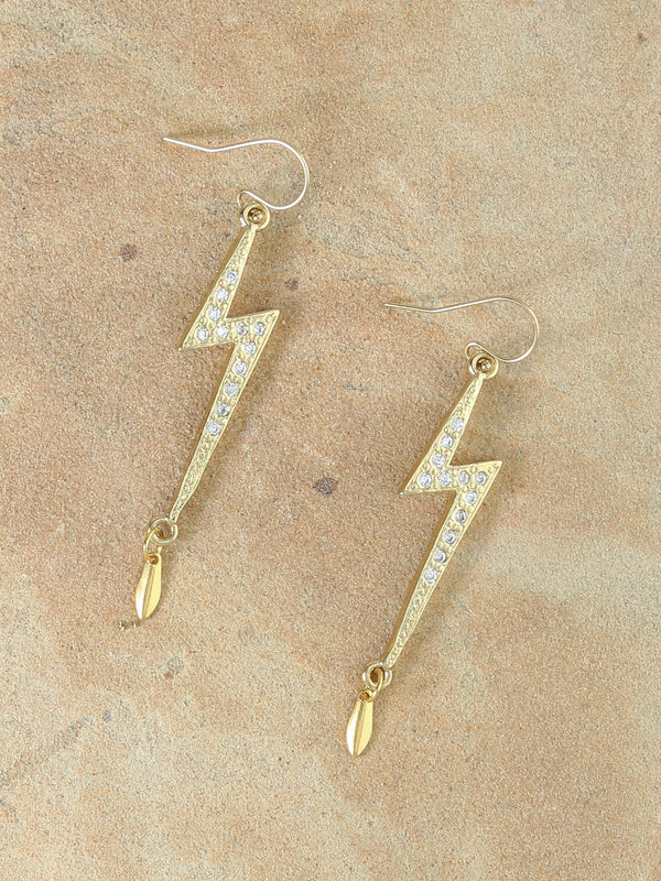Destiny Lightning Bolt Earrings