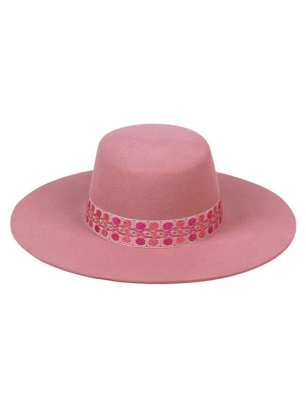 Sierra Rose Boater Hat