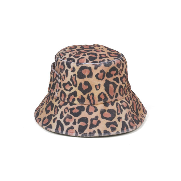 Wave Bucket Hat - Leopard