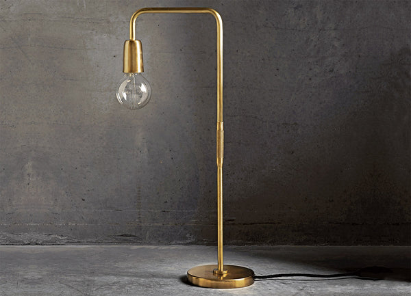 Bau Table lamp Matte Brass - Tine K home - Nomad The Store