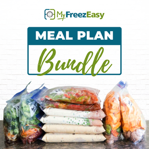 July 2019 - This Month's Freezer Meal Plan Bundle