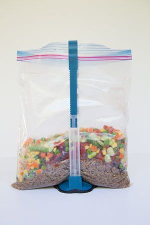 Set of 2 Freezer Meal Bag Holders