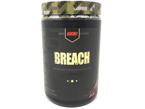 Redcon Breach BCAA's / EAA's- Strawberry Kiwi- 30srv