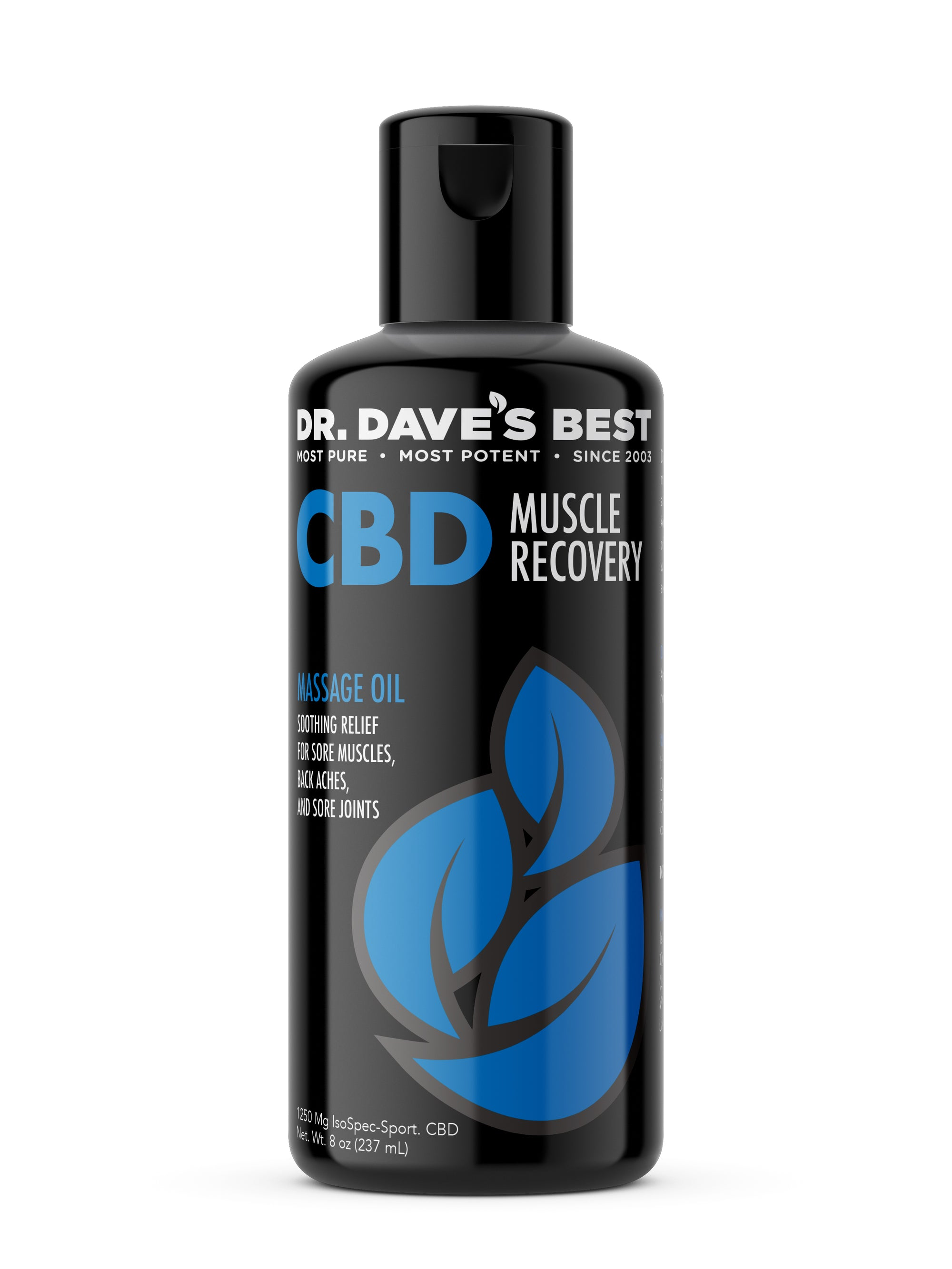 Dr. Dave's Best CBD Massage Oil - Recovery