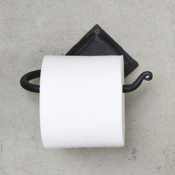 Forged Iron Toilet Paper Holder - Urbanily Lifestyle Goods