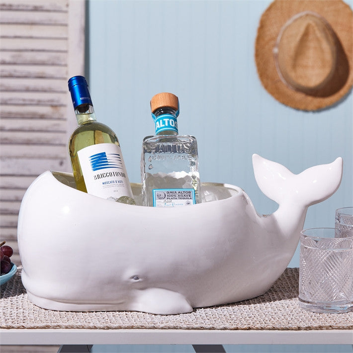 Beluga Whale Planter - Set of 2 - Urbanily Lifestyle Goods