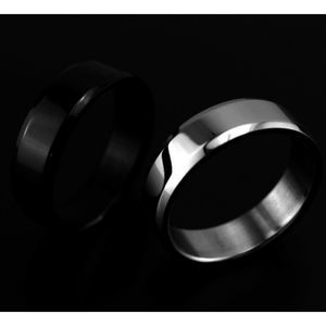 6mm Titanium Polished Band Ring - primejewelry
