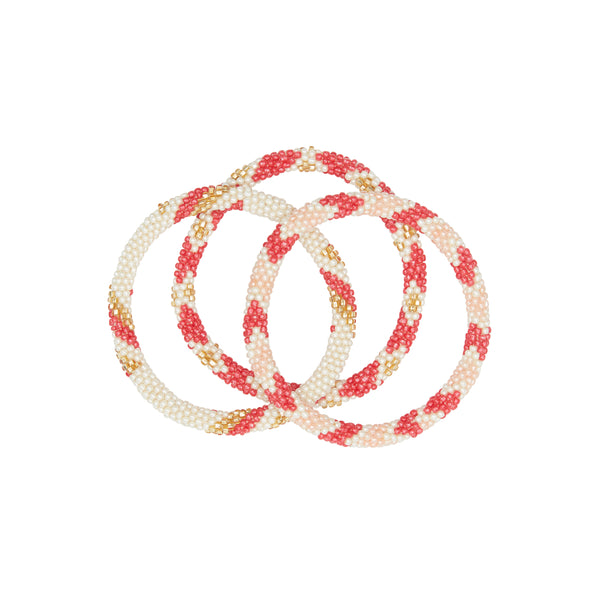 Flamingo bracelet trio 2